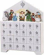Wiederverwendbare Weihnachten Holz Adventskalender