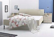 WIEMANN Bett 160x200 cm beige Doppelbetten Betten