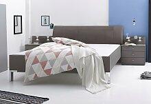 WIEMANN Bett 180x200 cm braun Doppelbetten Betten