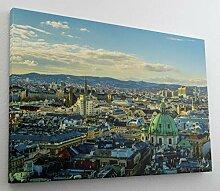 D/ìM/ò ART Bild Druck auf Leinwand mit Rahmen in Holz Paul Klee Abstract Painting 40x30 CM