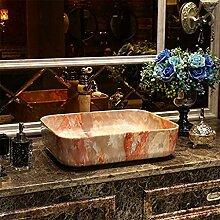 Wieoc Waschbecken Rechteckiges Waschbecken für