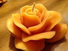 Wieschalla-Design Bienenwachskerze Rosenblüte