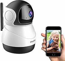 WiFi Babyphone mit Kamera, NIYPS1080P HD WLAN