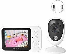 WiFi Kamera Babyphone, 3,5 Zoll TFT Wireless