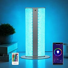 Wifi LED Tischlampe Dimmbar, 8W RGB