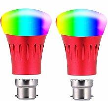 Wifi Smart Birne, VBFFS Birne Mehrfarbig LED