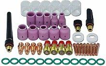 WIG Stubby Gas Objektiv Kits Pyrex-Becher