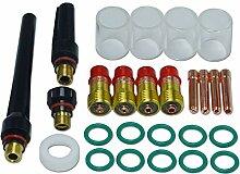 WIG Stubby Gas Objektiv Kits Pyrex-Becher Kit DB