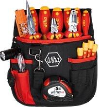 WIHA 44574 - Werkzeugsatz, Gürteltasche,