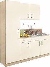 wiho Küchen Küchenblock Kiel, Breite 190 cm mit