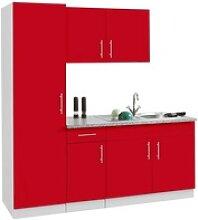 wiho Küchen Küchenblock Kiel, ohne E-Geräte,