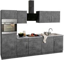 wiho Küchen Küchenzeile Cali, mit E-Geräten,