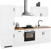 wiho Küchen Küchenzeile Erla, mit E-Geräten,