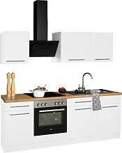 wiho Küchen Küchenzeile Unna, mit E-Geräten,