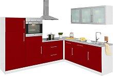 wiho Küchen Winkelküche Aachen, mit E-Geräten,