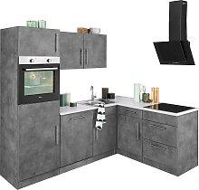 wiho Küchen Winkelküche Cali, ohne E-Geräte,
