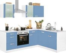 wiho Küchen Winkelküche Husum, mit E-Geräten,