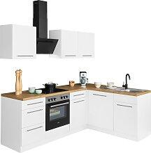 wiho Küchen Winkelküche Unna, mit E-Geräten,