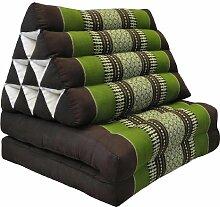 Wilai Kapok Thaikissen, Dreieck mit zwei Auflagen