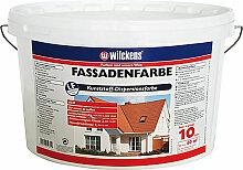 Wilckens Fassadenfarbe 10 l, weiß