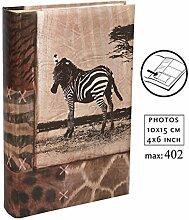 Wild Nature Fotoalbum für 402 Fotos in 10x15 cm