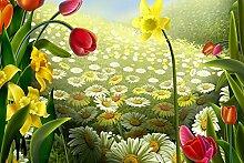 Wildblumen Diamant Malerei 5D DIY Pflanze Voll