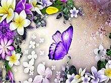 Wildblumen Diamant Malerei 5D DIY Voll Bohren