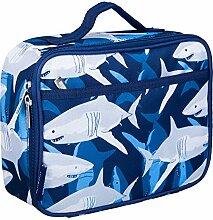 Wildkin Lunchbox für Kinder, Textil, Sharks, 25.5