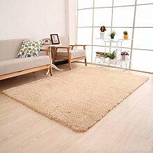 Wildleder Teppich Wohnzimmer Schlafzimmer Teppich Tür Teppich , #6 , 80*120cm