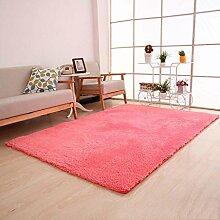 Wildleder Teppich Wohnzimmer Schlafzimmer Teppich Tür Teppich , #1 , 50*80cm