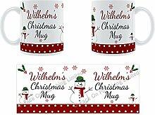 Wilhelm'Weihnachten Becher, Tasse, Keramik,