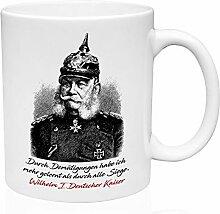 Wilhelm I Deutscher Kaiser- Durch Zitate 11oz