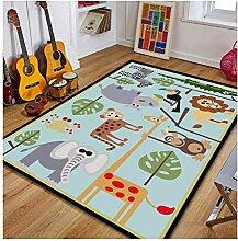 William 337 Handgemalte Teppich für Kinder Kinder