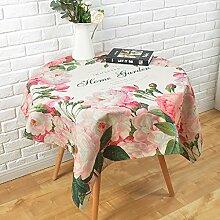 William 337 Kleine frische Runde Tischdecken Tuch