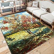 William 337 Rechteckiger Teppich, 3D Wohnzimmer