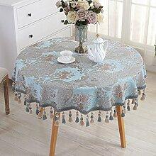 William 337 Runde Tischdecke Europäischen Tuch