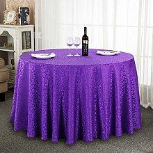 William 337 Runde Tischdecken - Hotel Hochzeit