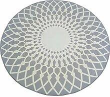 William 337 Runder Teppich, einfaches modernes