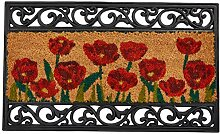 William Armes Kokos-Fußmatte mit Gusseisen-Effekt