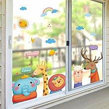Willkommen Kinder Kindergarten Tür Aufkleber