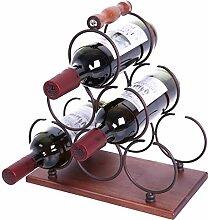 WILLOWDALE Weinregal, für 6 Flaschen, Weinregal,