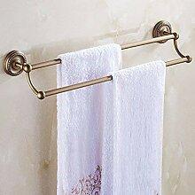 Willsego Alle Kupfer antik Doppel-Handtuchhalter