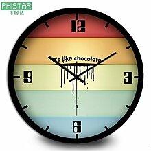 Willsego Creative Chocolate Apple Wanduhr -