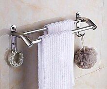 Willsego Dusche Bad Handtuchhalter 304 Edelstahl