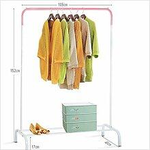 Willsego Garderobe Kleiderbügel Kleiderstange