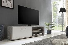 Wilmes TV-Board 120x37x34 cm grau TV-Lowboards TV-