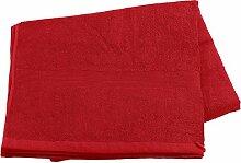 Wilson Gabor Sauna Tücher: Saunatuch aus Baumwoll-Frottee 220x90, rot (Handtuch)