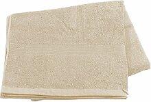 Wilson Gabor Sport-Sauna-Tücher: Saunatuch aus Baumwoll-Frottee 220 x 90 cm, beige (Handtuch)