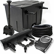 Wiltec - Filter Set für 12000l Teich 18W