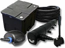 Wiltec - Filter Set für 12000l Teich mit 72W